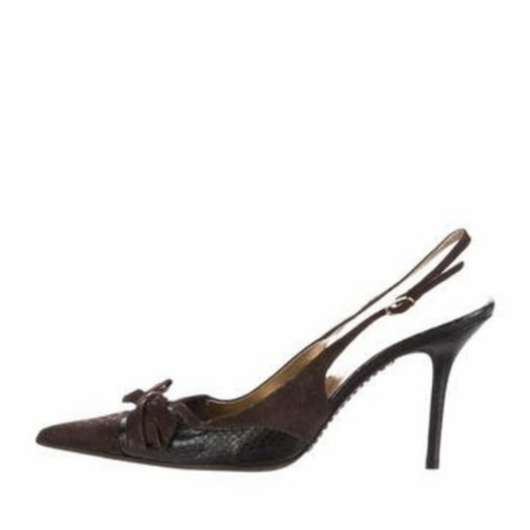 best seller cheap price D&G Embossed Slingback Pumps cheap with paypal clearance brand new unisex blcIyUM6